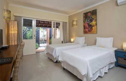 Kamar hotel di Scallywags Resort