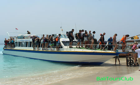 Speed boat Gili Trawangan