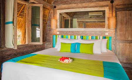 Hai Tide Beach Resort - kamar hotel