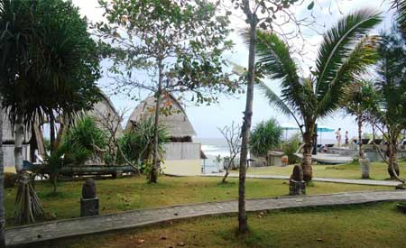 Tampilan Dream Beach Huts