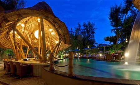 Pool di Pearl of Trawangan Resort