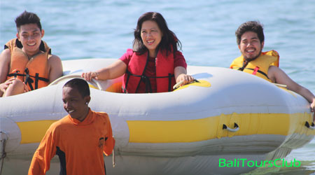 Tubing - watersport Bali