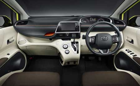 Interior All New Toyota Sienta