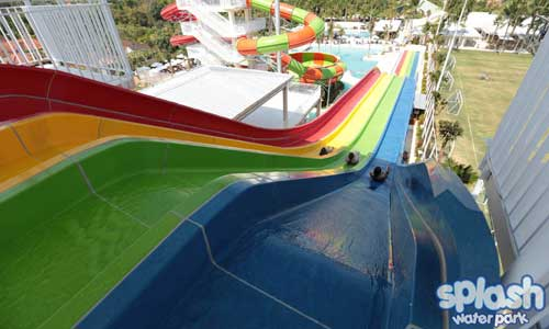Giant Racer di Splash Waterpark Bali