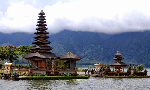 Image result for history of Danau Beratan Bedugul