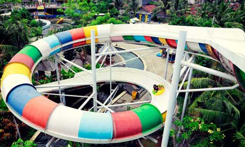 Speed Spiral - Circus Waterpark Bali