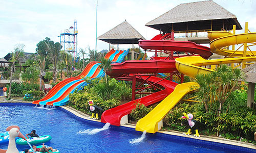 Water slide New Kuta Green Park