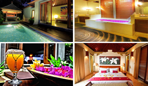 Paket Honeymoon di Bali - private villa