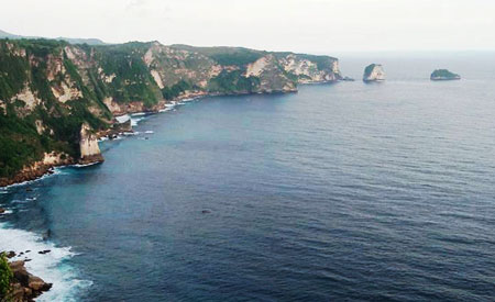 Objek wisata Saren Cliff Point