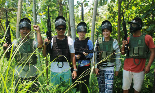 Game war - Air soft gun di Kermas Park
