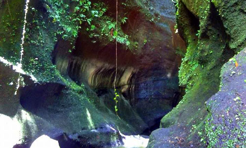 Hidden Green Canyon Undisan Bali