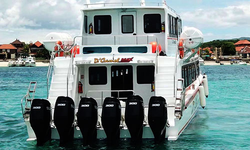 Mesin kapal New D'camel Max Fast Ferry