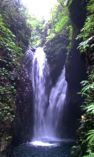 Twin Waterfall - Air Terjun Kembar Gitgit