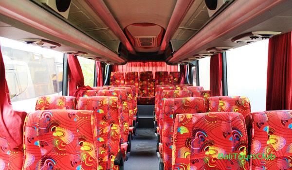 Interior Bus Pariwisata Bali