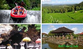Telaga Waja Rafting Tour harian Bali