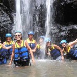 Ayung Rafting - air terjun
