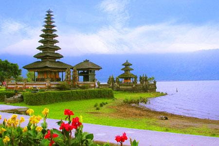 Objek wisata Bedugul Bali