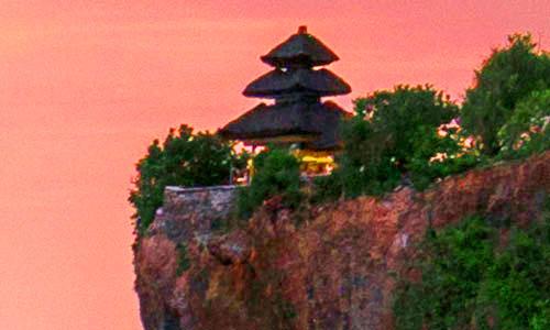 Objek wisata Pura Uluwatu Bali