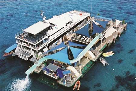 Pontoon - Bali Hai Cruise