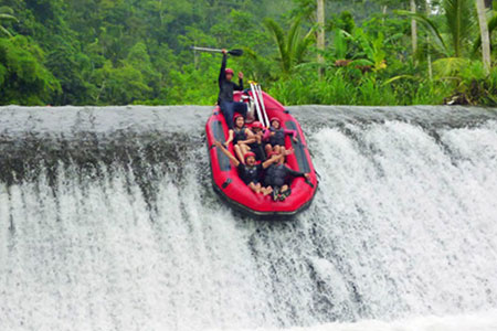 Rafting di Bali - Sungai Telaga Waja