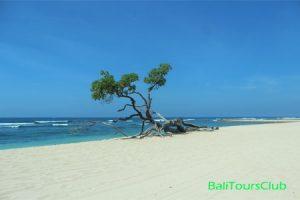 Objek wisata pantai Sawangan