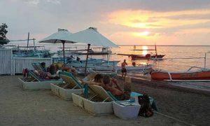 Sunrise di pantai Lovina