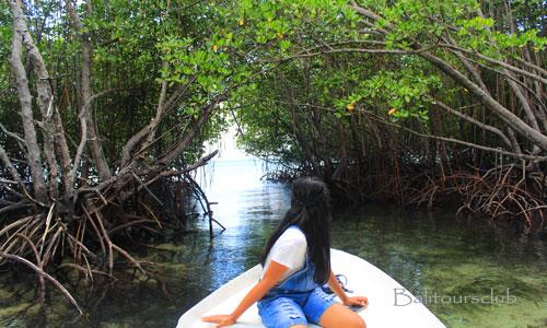 Objek wisata di pulau Nusa Lembonmgan