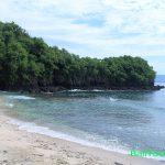 Objek wisata Pantai Blue Lagoon