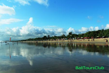 Pantai Kuta objek wisata di pulau Bali