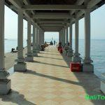 Dermaga fast boat Padang Bai