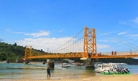 Jembatan Kuning di Nusa Lembongan saat ini