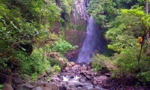 Objek wisata air terjun Les - Yeh Mampeh di Buleleng