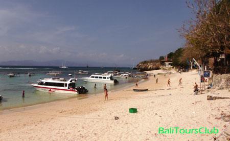 Pantai Mushroom Bay Nusa Lembongan