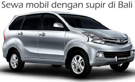 Sewa mobil dengan supir di Bali