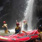 Bahama Rafting - air terjun