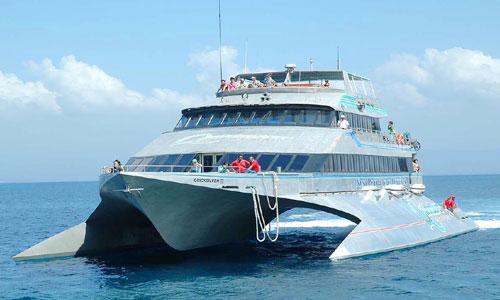 Cruise - kapal pesiar lokal di Bali