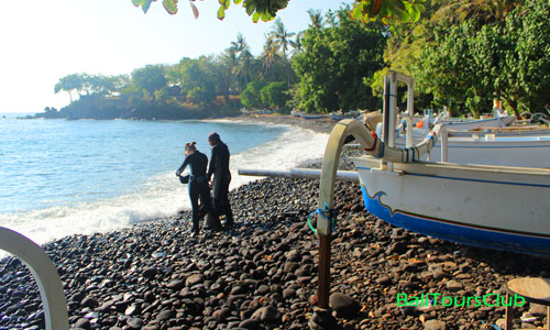 Diving tour di Tulamben Bali