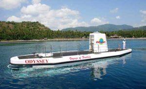 Kapal selam Odyssey Submarine