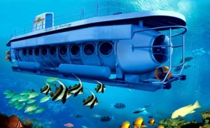 Odyssey Submarine di Labuhan Amuk Bali