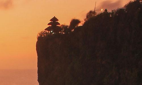 Sunset tour di Bali -Pura  Uluwatu