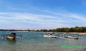 Perahu Nelayan di pulau Serangan