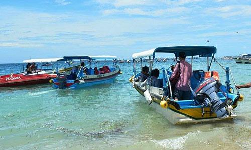 Pulau Penyu - Glass Bottom boat Tanjung Benoa