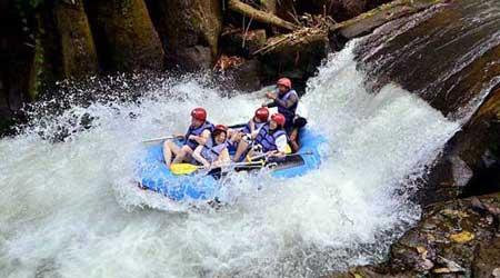 Rafting di Bali - Sungai Melangit