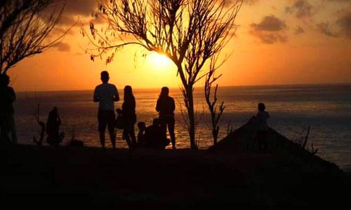 Sunrise di Bukit Asah Karangasem