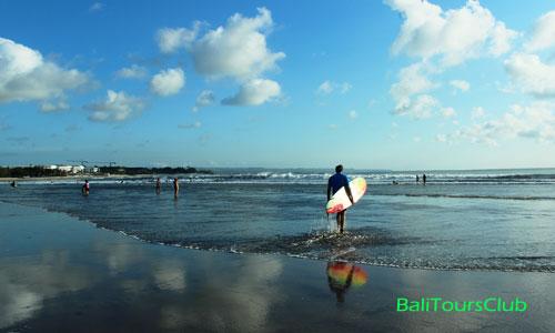 Jarak dari Kuta ke tempat wisata di Bali