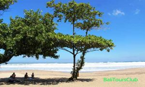 Objek wisata pantai Legian