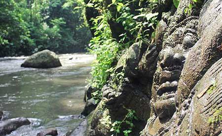 Relief Ramayana Sungai Ayung
