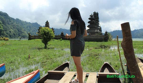 Objek wisata danau Tamblingan