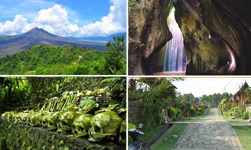 Tempat dan objek wisata di kabupaten Bangli