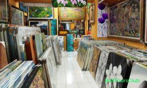 Lukisan di Pasar Seni Ubud
